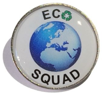 ECO SQUAD round badge